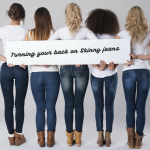 turning your back on skinny jeans