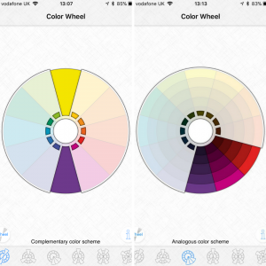 Playing With Colour Color Wheel App