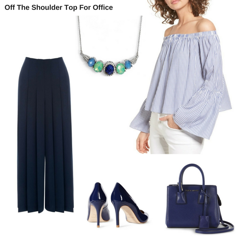 Off The Shoulder Top - Office