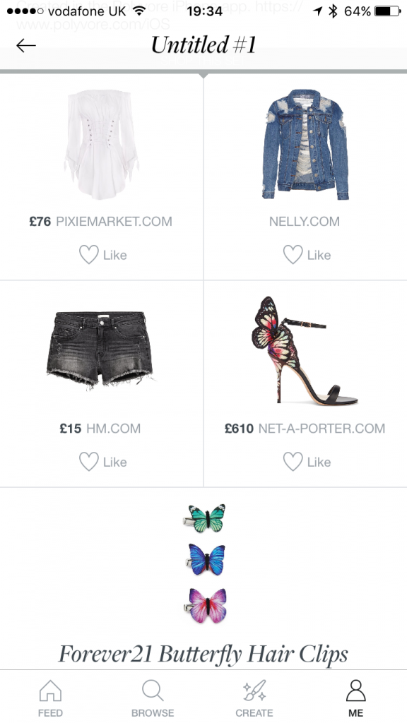 how to add your own items on polyvore